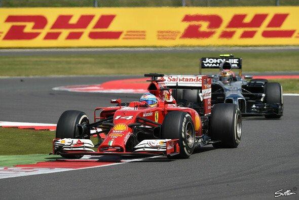 Fernando Alonso erlebte ein actionreiches Rennen