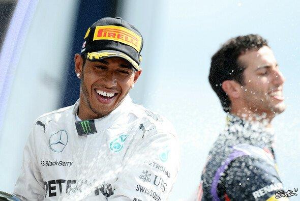 Hamilton genießt seinen Heimsieg