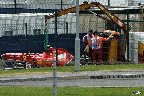 Räikkönen hatte Glück im Unglück