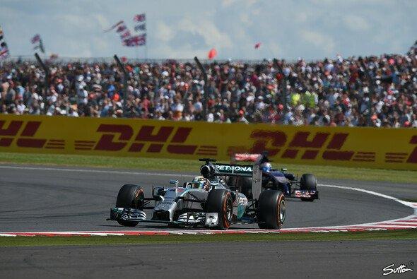 Lewis Hamilton war beim Heimspiel in Silverstone eine Klasse für sich