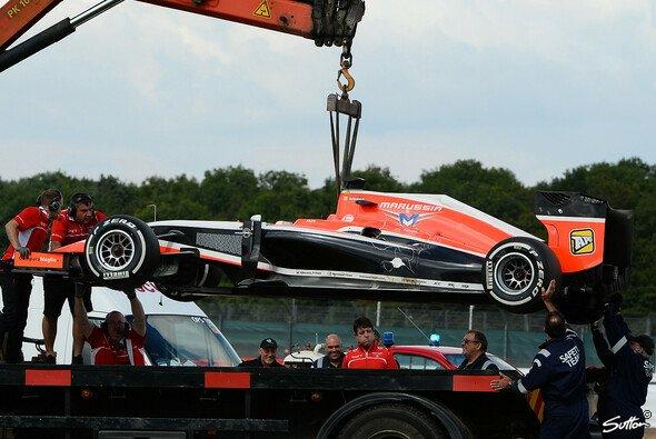 Jules Bianchi sattelt am Mittwoch vom Marussia auf Ferrari um