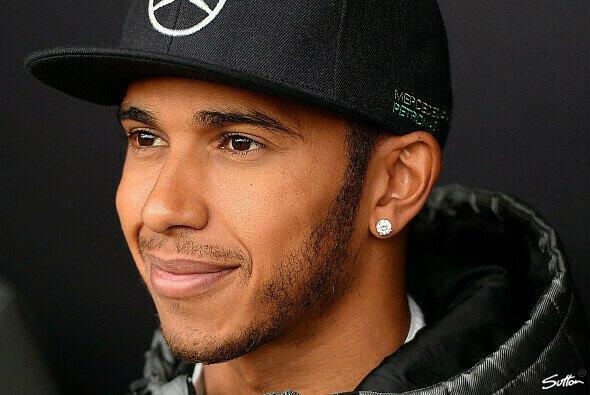 Lewis Hamilton freut sich auf den spannenden WM-Kampf mit Nico Rosberg