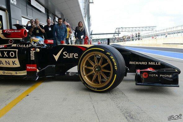 Die Formel 1 fährt ab 2021 voraussichtlich auf 18-Zoll-Reifen - Foto: Sutton