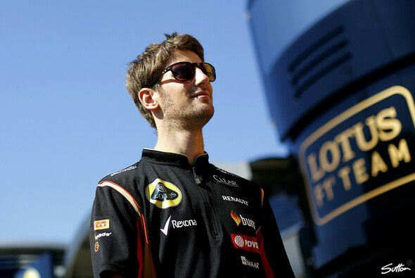 Bleibt Romain Grosjean Lotus treu? - Foto: Sutton