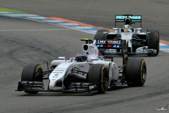 Williams misst sich an den Silberpfeilen