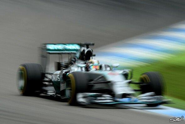 Lewis Hamilton war der schnellste Mann in der Radarfalle