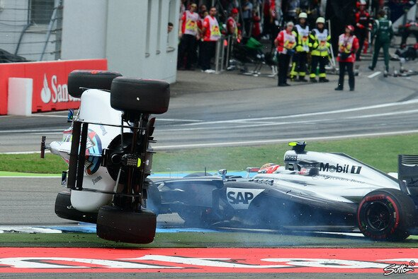 Kevin Magnussen flippte Felipe Massa am Start - Foto: Sutton