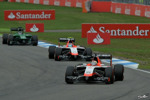 Jules Bianchi war erneut Best of the Rest - Foto: Sutton