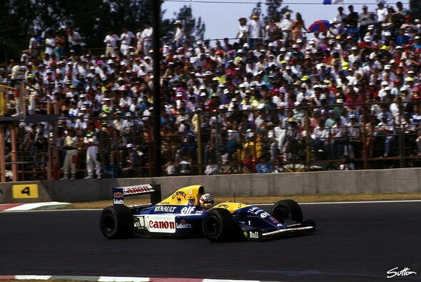 Die aktive Radaufh�ngung machte den Williams 1992 zum �ber-Auto - Foto: Sutton