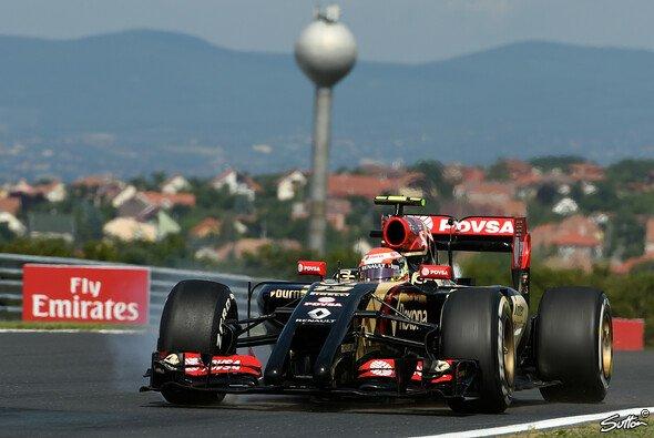 Pastor Maldonado beendete den Trainigsfreitag am Hungaroring auf Rang sechzehn