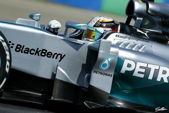 Hamilton fuhr erneut Bestzeit - Foto: Sutton
