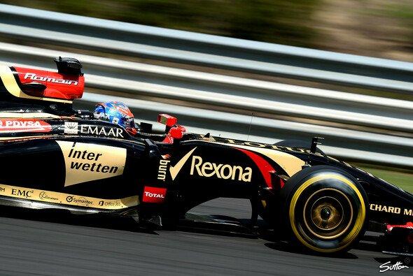 Fährt Grosjean 2015 für Lotus?