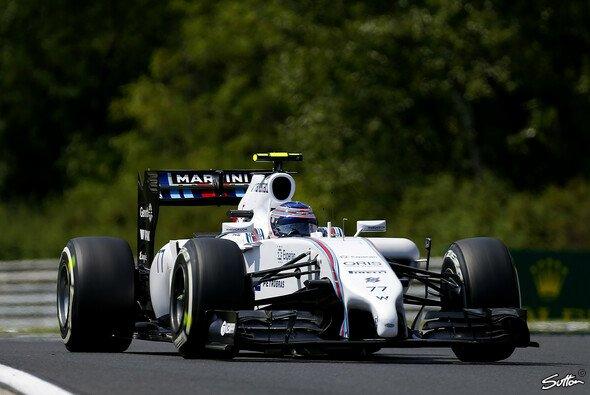Valtteri Bottas hat es bei Williams gut