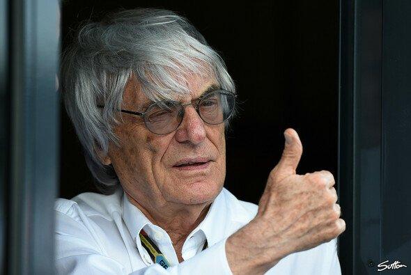 Bernie Ecclestone gibt das 'go' für den Russland GP - Foto: Sutton