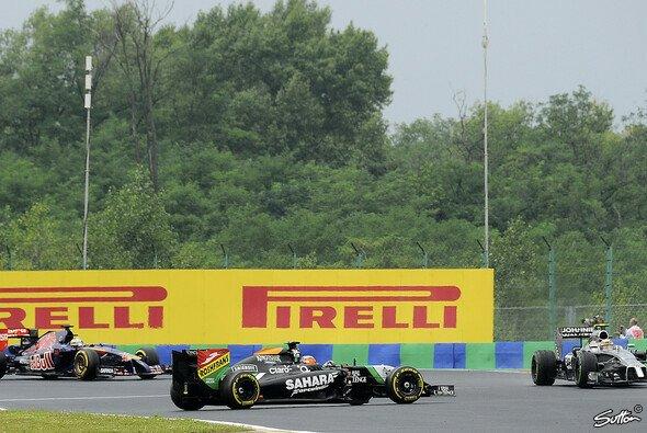 Erste Kollektiv-Nullrunde für Force India in diesem Jahr - Foto: Sutton