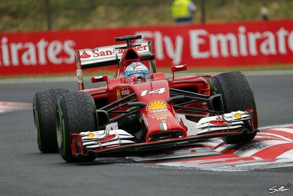 Alonso dürfte hoffen, dass der Lack tatsächlich magisch ist