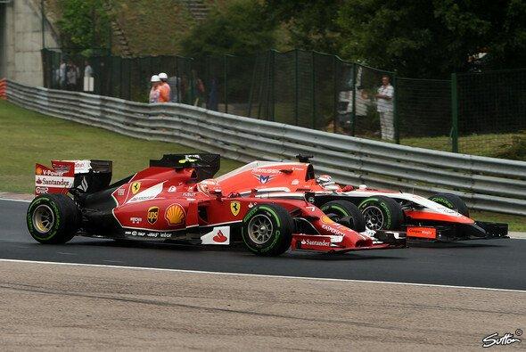 Ferrari plante fest mit Jules Bianchi als Nachfolger von Kimi Räikkönen - Foto: Sutton