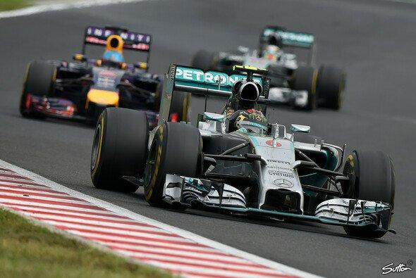 Nico Rosberg hatte kein Glück, aber auch zu wenig Biss - Foto: Sutton