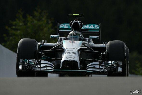 Rosberg mit Bestzeit in Spa - Foto: Sutton