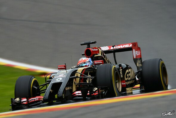 Romain Grosjean war in Q2 chancenlos - Foto: Sutton