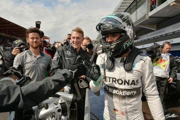 Nico Rosberg: 4. Pole in Folge - Foto: Sutton