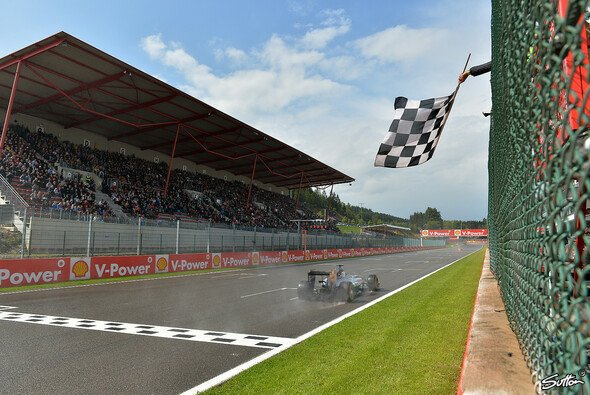 Mercedes dominiert das Spa-Qualifying - Foto: Sutton