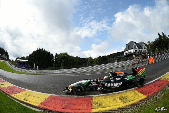 Spa und Monza zählen zu Sergio Perez' Lieblingsstrecken - Foto: Sutton