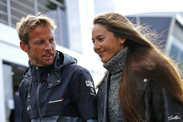 Jenson Button und Jessica Michibata waren das Traumpaar der Königsklasse - Foto: Sutton