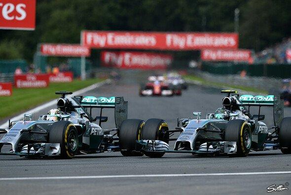 Die Formel-1-Welt wartet gespannt auf die nächsten Mercedes-Duelle