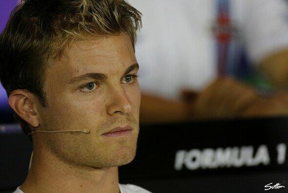 Rosberg bekannte sich in der Pressekonferenz nochmal zu seinem Fehler