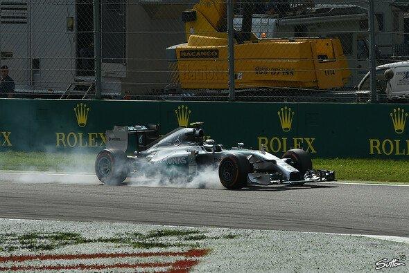 Ein Verbremser, der Rosberg des Sieg kostete - Foto: Sutton