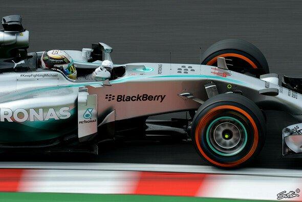 Bestzeit für Lewis Hamilton in Suzuka - Foto: Sutton