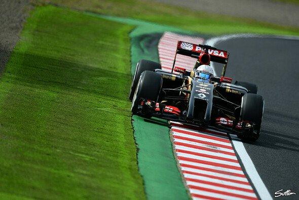 Sitzt Romain Grosjean 2015 noch im Lotus-Cockpit? - Foto: Sutton