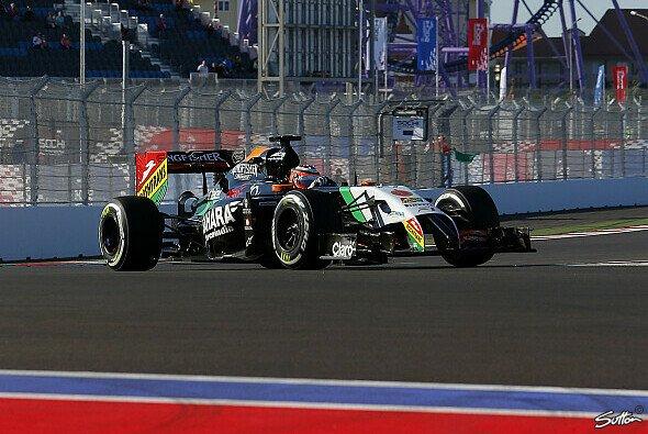 Die Longsruns von Force India lassen für das Rennen hoffen - Foto: Sutton