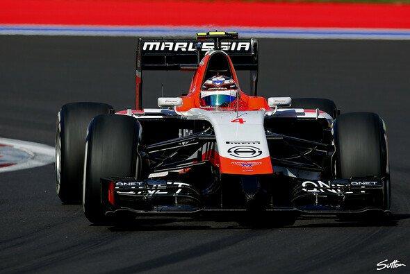 Zu Beginn der Saison tritt Manor Marussia mit einem modifizierten Vorjahreswagen an - Foto: Sutton