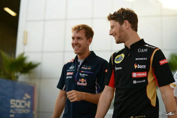 Grosjean will in die Riege der Superstars aufsteigen - Foto: Sutton