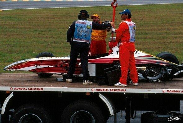 Ricardo Zonta tuvo que saltarse el GP de Brasil de 1999 - Foto: Sutton