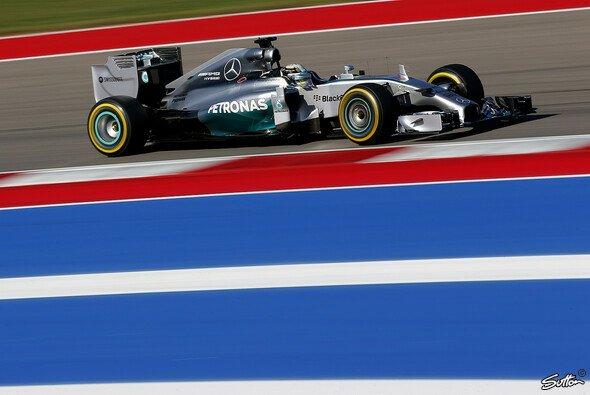 Lewis Hamilton gewann den US GP - Foto: Sutton