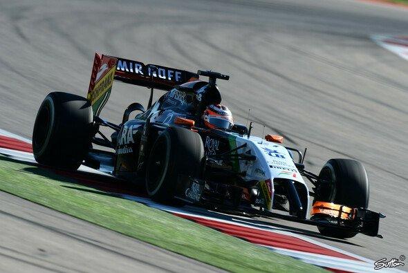 Force India muss Austin ohne Punkte verlassen - Foto: Sutton