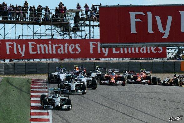 In Austin waren nur 18 Autos am Start - Foto: Sutton
