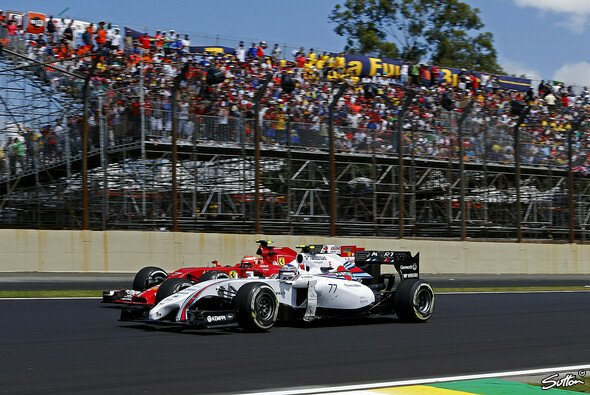 Williams hat Ferrari 2014 in den Hintergrund gedrängt - Foto: Sutton