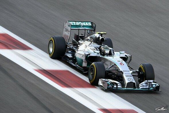Nico Rosberg setzte sich an die Spitze - Foto: Sutton