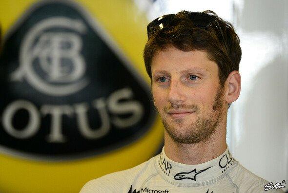 Grosjean bleibt mindestens eine weitere Saison bei Lotus - Foto: Sutton