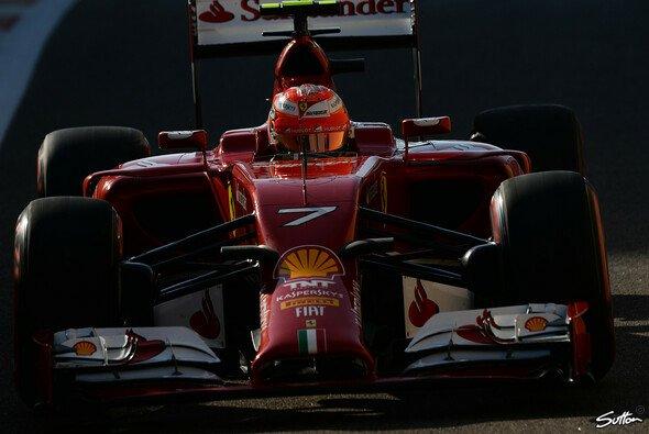 Kimi Räikkönen holte in Abu Dhabi einen Punkt - Foto: Sutton