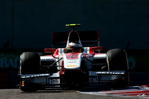 Stoffel Vandoorne stieg von seinem McLaren-Test direkt in die GP2 um - Foto: Sutton