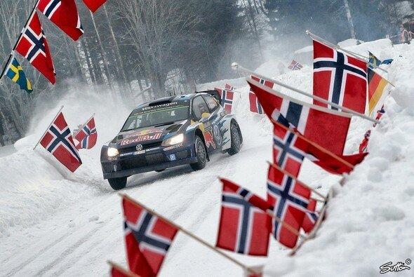 Andreas Mikkelsen bereitete den zahlreiche norwegischen Fans viel Freude - Foto: Sutton