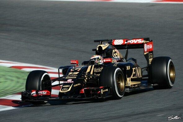 Pastor Maldonado glaubt an den großen Sprung für Lotus - Foto: Sutton