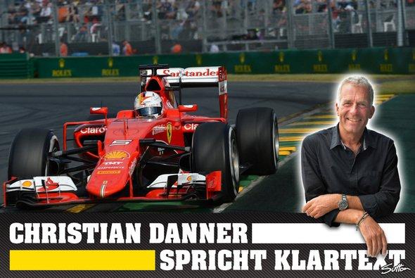 Vettel auf dem Podium: Eines der Highlights für Christian Danner - Foto: Motorsport-Magazin.com/Sutton