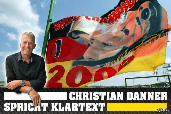 Christian Danner ist sprachlos - Foto: Motorsport-Magazin.com/Sutton