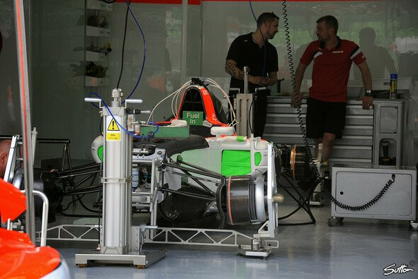 Manor Marussia, Sauber, Lotus und Force India gelten als finanziell schwächste Teams - Foto: Sutton